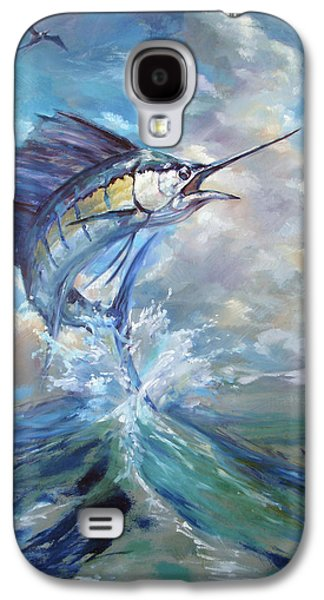 Sailfish And Frigate Galaxy S4 Case by Tom Dauria
