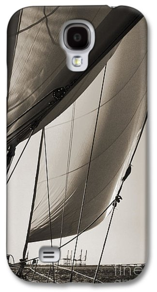 Yachting Galaxy S4 Cases - Sailing Beneteau 49 Sloop Galaxy S4 Case by Dustin K Ryan