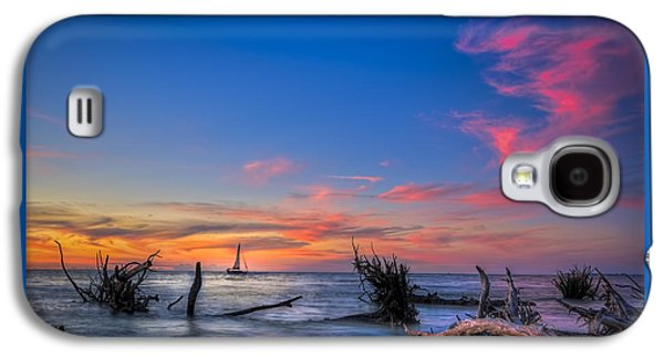 Tree Roots Galaxy S4 Cases - Sailing Hazard Galaxy S4 Case by Marvin Spates