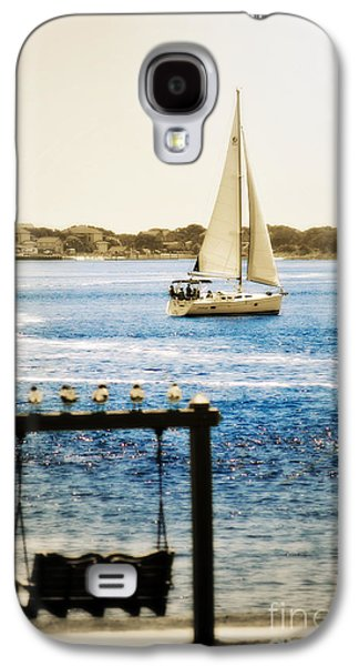 Original Art Photographs Galaxy S4 Cases - Sailing Through Southport Galaxy S4 Case by Kelly Nowak