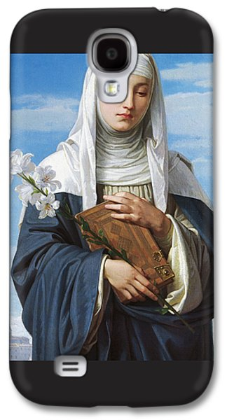 Saint Catherine Of Siena Galaxy S4 Case by Alessandro Franchi