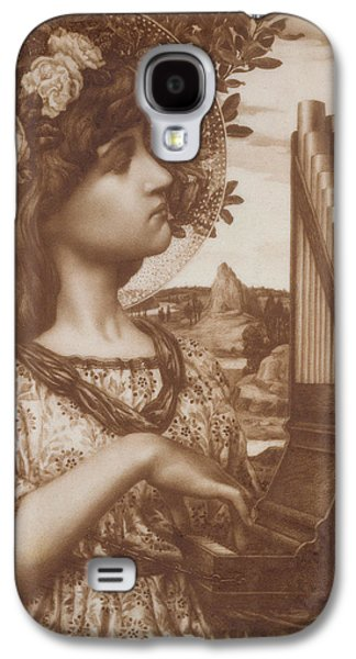 Saints Drawings Galaxy S4 Cases - Saint Cecilia Galaxy S4 Case by Henry Ryland