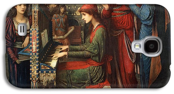 Religious Galaxy S4 Cases - Saint Cecilia Galaxy S4 Case by John Melhuish Strudwick