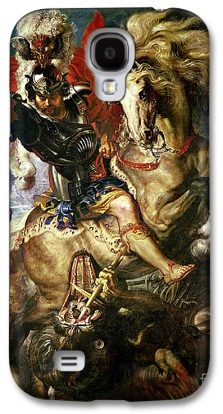 Saint George And The Dragon Galaxy S4 Case by Peter Paul Rubens
