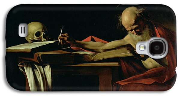 Saint Jerome Writing Galaxy S4 Case by Caravaggio