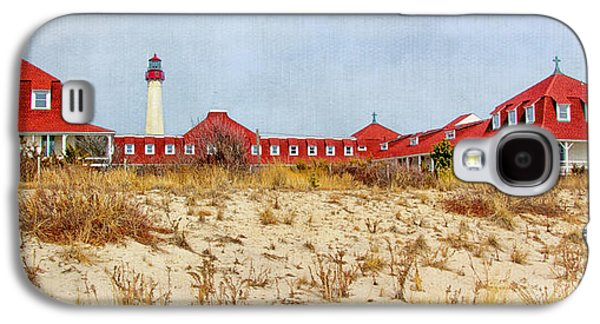 Buildings By The Ocean Galaxy S4 Cases - Saint Mary by-the-Sea Galaxy S4 Case by Carolyn Derstine
