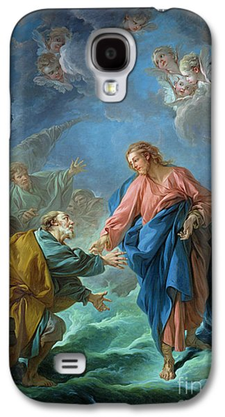 Religious Galaxy S4 Cases - Saint Peter Invited to Walk on the Water Galaxy S4 Case by Francois Boucher