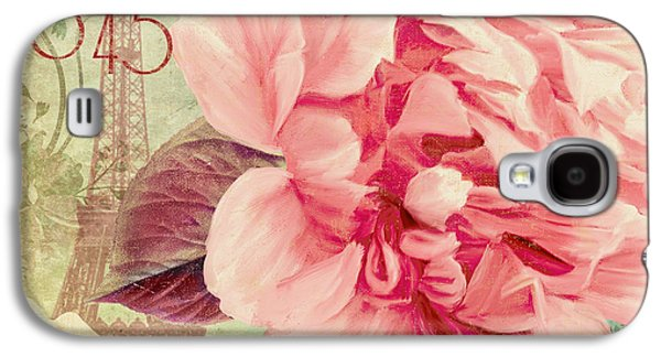 Pink Blossoms Galaxy S4 Cases - Saisons Fleurs Pink Galaxy S4 Case by Mindy Sommers