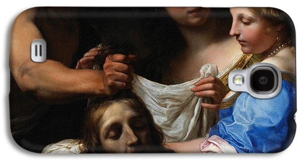 Baptist Paintings Galaxy S4 Cases - Salome with the Head of Saint John the Baptist Galaxy S4 Case by Onorio Marinari