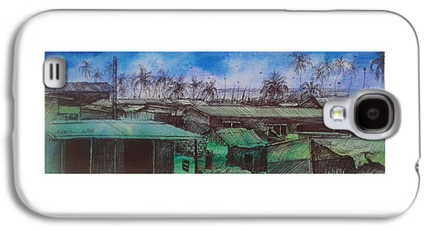 Slavery Galaxy S4 Cases - Saltpone  Galaxy S4 Case by Gorden Kegya