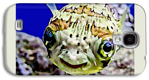Saltwater Porcupinefish Galaxy S4 Case by Marvin Blaine