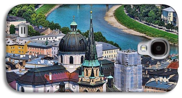 Salzburg Galaxy S4 Cases - Salzburg Austria Europe Galaxy S4 Case by Sabine Jacobs