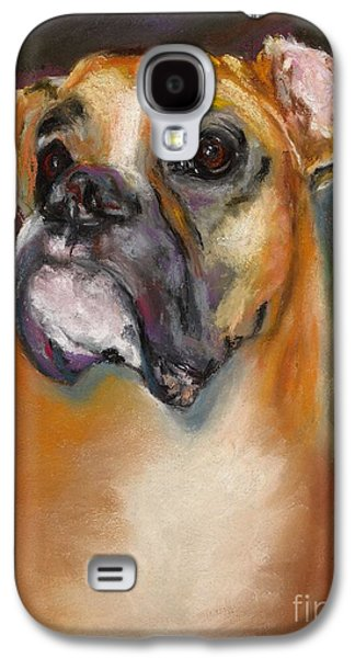 Dogs Pastels Galaxy S4 Cases - Sam Galaxy S4 Case by Frances Marino