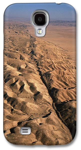 Fault Galaxy S4 Cases - San Andreas Fault, Aerial View Galaxy S4 Case by David Parker