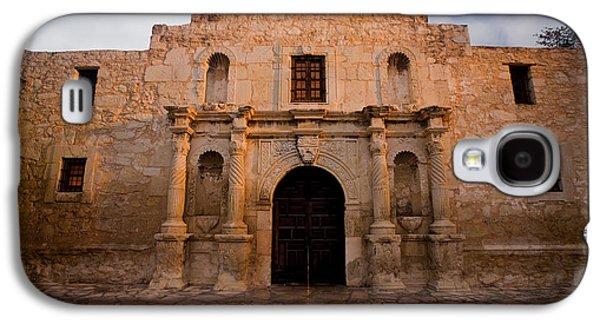 Columns Galaxy S4 Cases - San Antonio Alamo at Sunrise Galaxy S4 Case by Samuel Kessler