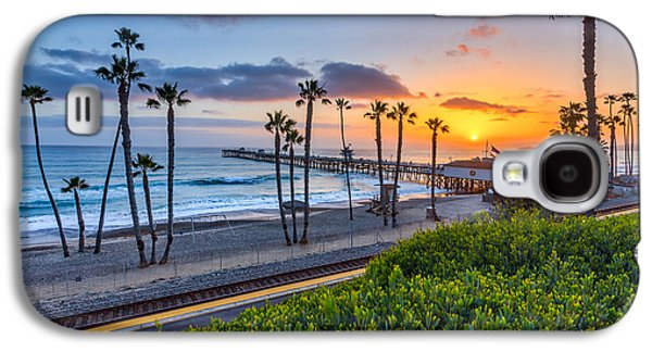 San Clemente Galaxy S4 Case by Peter Tellone