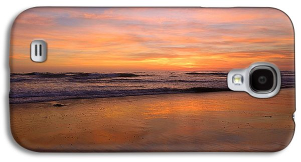 Landscape Acrylic Prints Galaxy S4 Cases - Cardiff Colors Galaxy S4 Case by John Tsumas