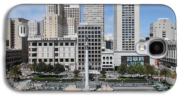 Niketown Galaxy S4 Cases - San Francisco - Union Square - 5D17938 Galaxy S4 Case by Wingsdomain Art and Photography
