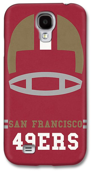 San Francisco 49ers Vintage Art Galaxy S4 Case by Joe Hamilton