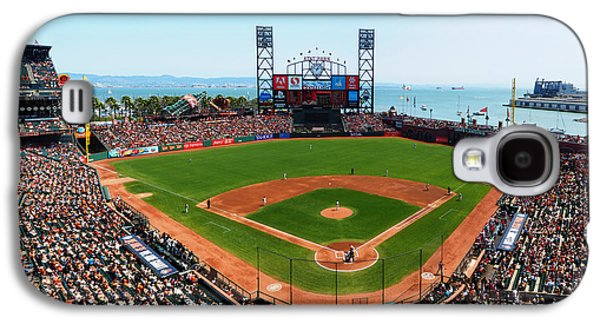 Sports Photographs Galaxy S4 Cases - San Francisco Ballpark 2 Galaxy S4 Case by C H Apperson