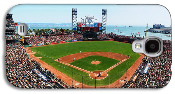 Sports Photographs Galaxy S4 Cases - San Francisco Ballpark Galaxy S4 Case by C H Apperson