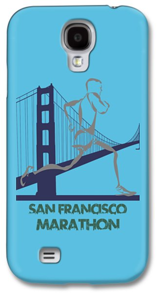 San Francisco Marathon2 Galaxy S4 Case by Joe Hamilton