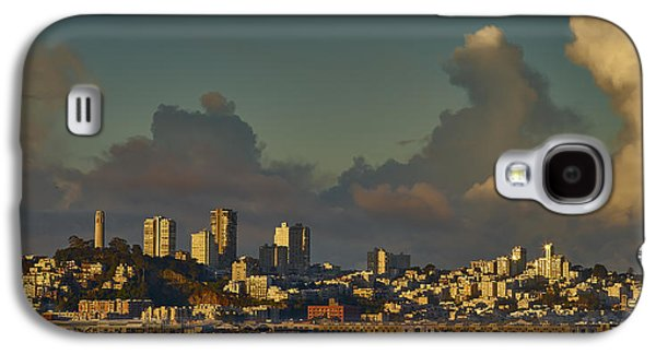 Business Galaxy S4 Cases - San Francisco Morning Galaxy S4 Case by Jens Peermann