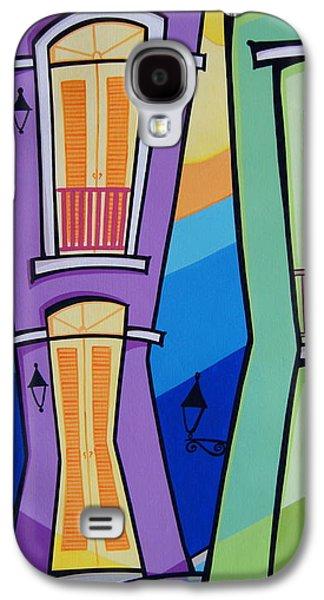 Galaxy S4 Cases - San Juan Alegre-4 Galaxy S4 Case by Mary Tere Perez