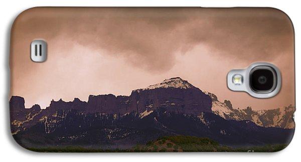 Original Art Photographs Galaxy S4 Cases - San Juan Spring Sunset Galaxy S4 Case by Janice Rae Pariza