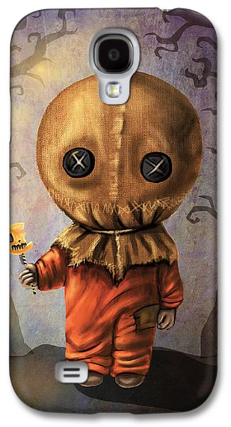 Recently Sold -  - Creepy Galaxy S4 Cases - Sam Trick R Treat Galaxy S4 Case by Diana Levin