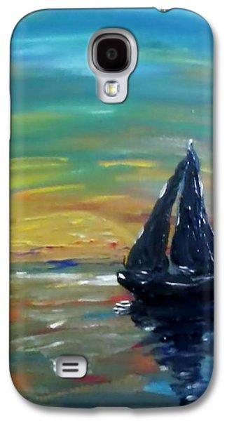 Coasting Galaxy S4 Cases - Sanctuary Galaxy S4 Case by Lori Lee