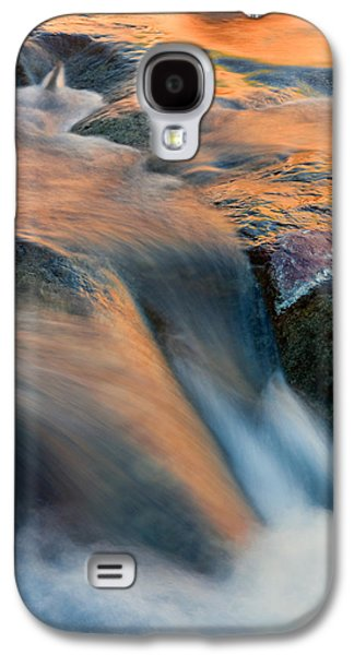 Oak Creek Photographs Galaxy S4 Cases - Sandstone Reflections Galaxy S4 Case by Mike  Dawson