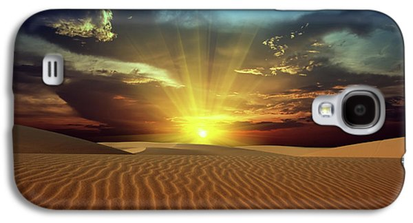 Sandy Desert Galaxy S4 Case by MotHaiBaPhoto Prints