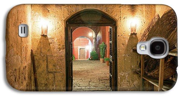Santa Catalina Monastery Hallway Galaxy S4 Case by Jess Kraft
