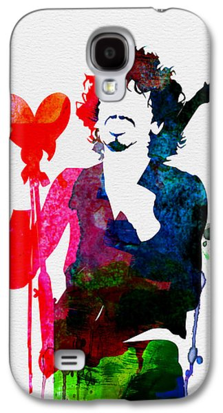 Gypsy Galaxy S4 Cases - Santana Watercolor Galaxy S4 Case by Naxart Studio