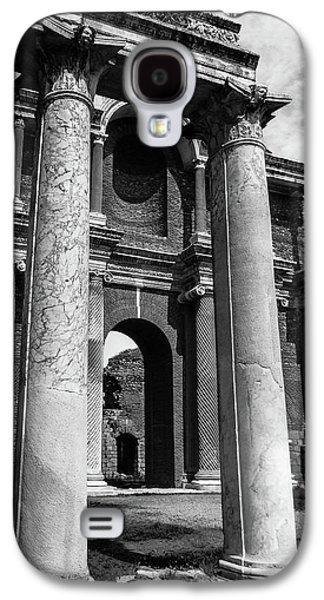 Ancient Galaxy S4 Cases - Sardis Columns Galaxy S4 Case by Bobby Palosaari