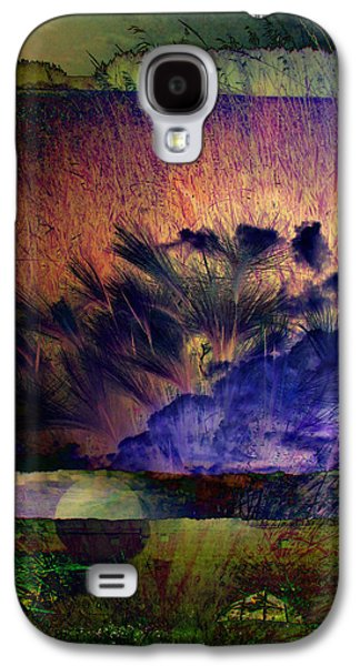 Abstract Nature Galaxy S4 Cases - Saskatchewan 6  Galaxy S4 Case by Lisa Smith