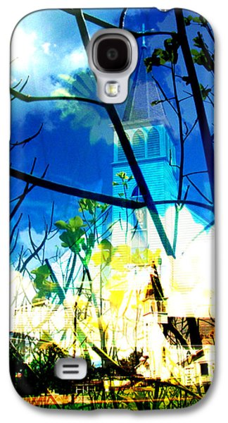 Abstract Nature Galaxy S4 Cases - Saskatchewan 8 Galaxy S4 Case by Lisa Smith