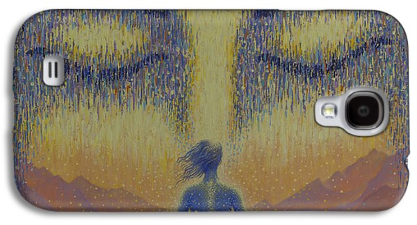 Unity Paintings Galaxy S4 Cases - Satori Galaxy S4 Case by Vrindavan Das