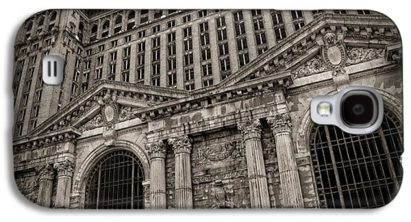 Old Man Digital Art Galaxy S4 Cases - SAVE THE DEPOT - Michigan Central Station Corktown - Detroit Michigan Galaxy S4 Case by Gordon Dean II