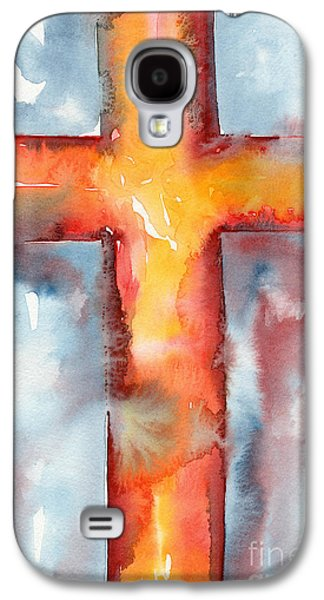 Holy Week Galaxy S4 Cases - Saved Galaxy S4 Case by Ruth Borges