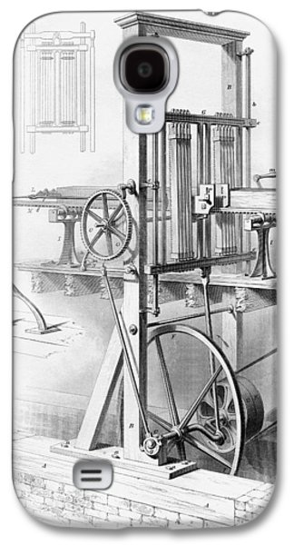 Sawmill. From Cyclopaedia Of Useful Galaxy S4 Case by Vintage Design Pics