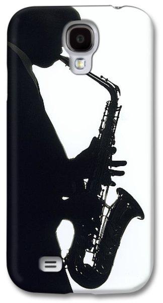Saxophone Photographs Galaxy S4 Cases - Sax 2 Galaxy S4 Case by Tony Cordoza