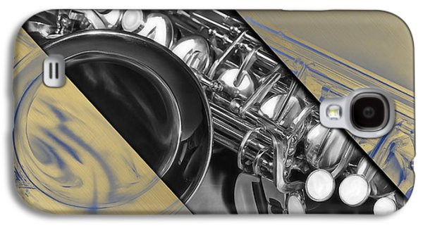Saxophone Musical Collection Galaxy S4 Case by Marvin Blaine