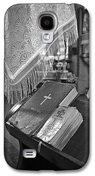 Bible Photographs Galaxy S4 Cases - Say a Little Prayer Galaxy S4 Case by Evelina Kremsdorf