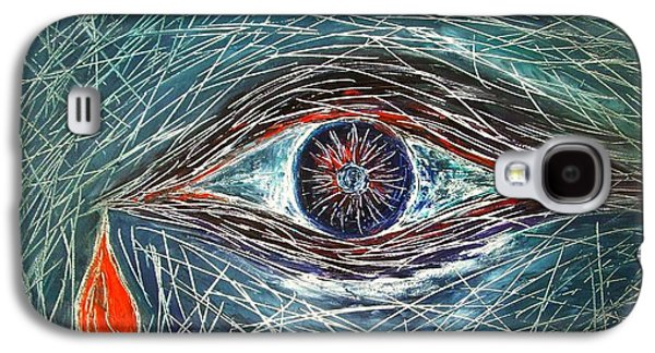 Visionary Artist Galaxy S4 Cases - Scars in My Soul Galaxy S4 Case by Marianna Mills