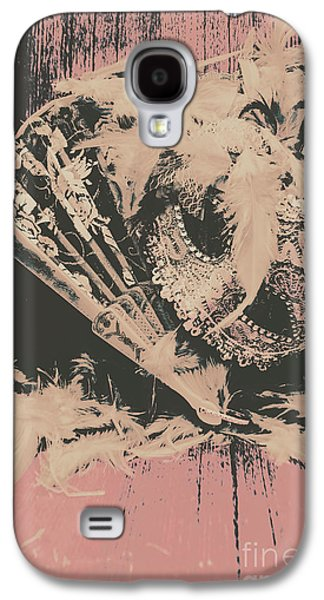 Scene From A Country And Western Cabaret  Galaxy S4 Case by Jorgo Photography - Wall Art Gallery
