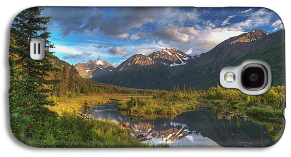 The Nature Center Galaxy S4 Cases - Scenic View Of Eagle River Valley Galaxy S4 Case by Michael Jones