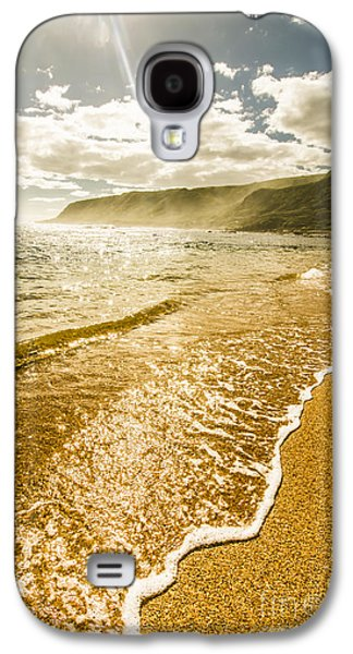 Scenic View On Harbor In Sunlight Galaxy S4 Case by Jorgo Photography - Wall Art Gallery