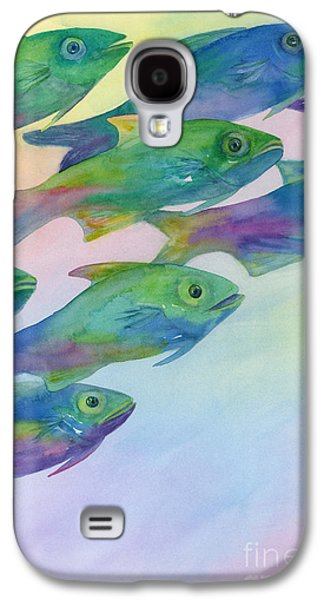Schools Of Fish Galaxy S4 Cases - Schools Out Galaxy S4 Case by Amy Kirkpatrick
